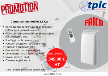 Promotion climatisations mobiles